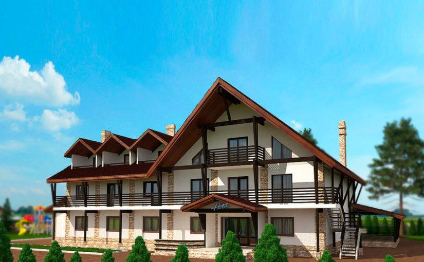 Проект «Отель Буковель»